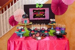 Dance Birthday Party Ideas