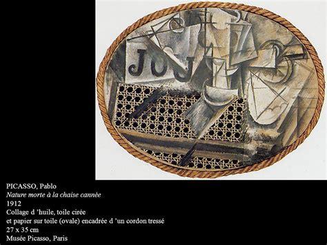 nature morte à la chaise cannée paradigmes et enjeux des arts du xxe siècle ppt