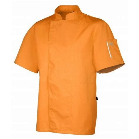 veste cuisine veste de cuisine manches courtes de couleur de la marque robur