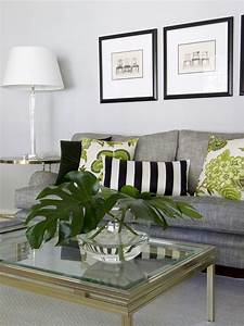 50 gorgeous contemporary living room interior design for Green and gray living room