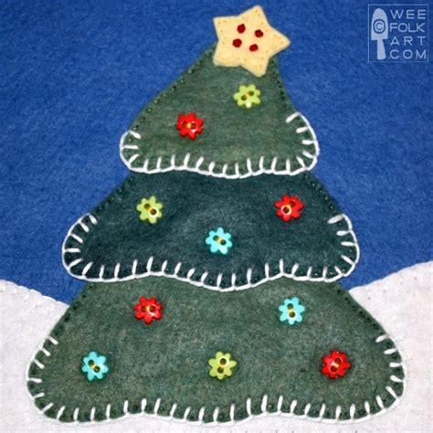 oh christmas string folk art corner advent tree wee folk