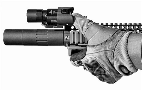 ar15 weapon light unity tactical exo mount for weapon lights the firearm