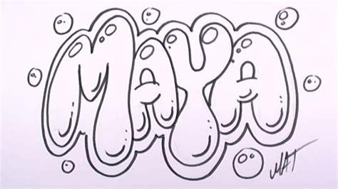 graffiti writing maya  design    names