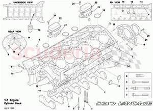 Aston Martin Db7 Vantage Cylinder Block Parts