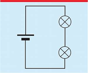 A Series Circuit  A Typical Misconception Is That Current Is Being