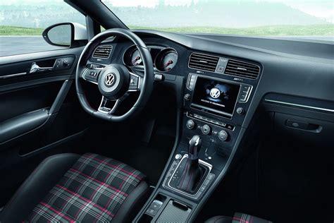 volkswagen golf interior volkswagen cars news mk7 golf gti uk pricing