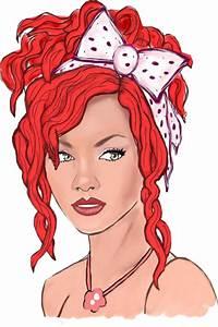 Rihanna drawing png by badgurlhere on DeviantArt