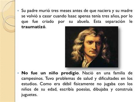 Isaac Newton Resumen De Su Vida by Isaac Newton
