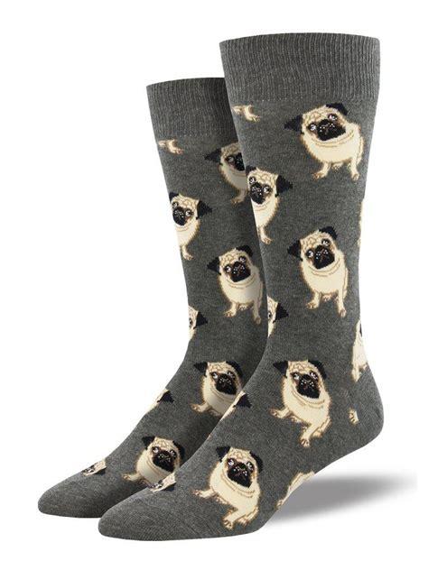 fun socks  men mens king size pug socks joy  socks