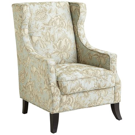 Floral Upholstered Living Room Chairs by Alec Blue Floral Wing Chair Fla Livingroom Wing Chair