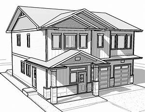 Photos: Drawings Of Houses, - DRAWING ART GALLERY