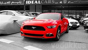 A Red 2016 Ford Mustang for Sale at Dubai's Al Aweer Market | Fottams!