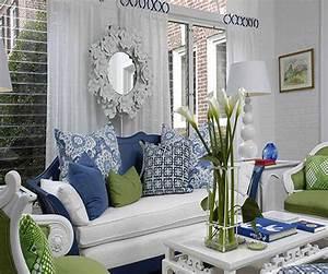 Interior Design Ideas Living Room Color Scheme Green And ...