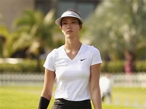 Michelle Wie In Blue Bay LPGA Day 1 Zimbio
