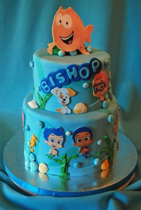 guppies cake decorations guppies birthday ideas yes that s cake