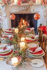 40, Elegant, Diy, Christmas, Table, Decorations, And, Settings, Ideas
