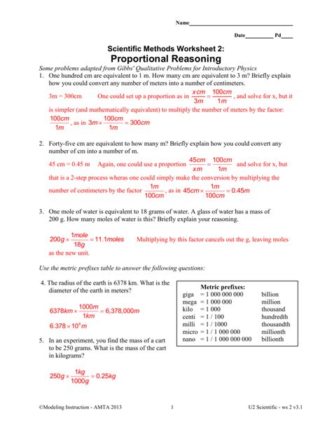 modeling chemistry unit 9 worksheet 2 answers breadandhearth