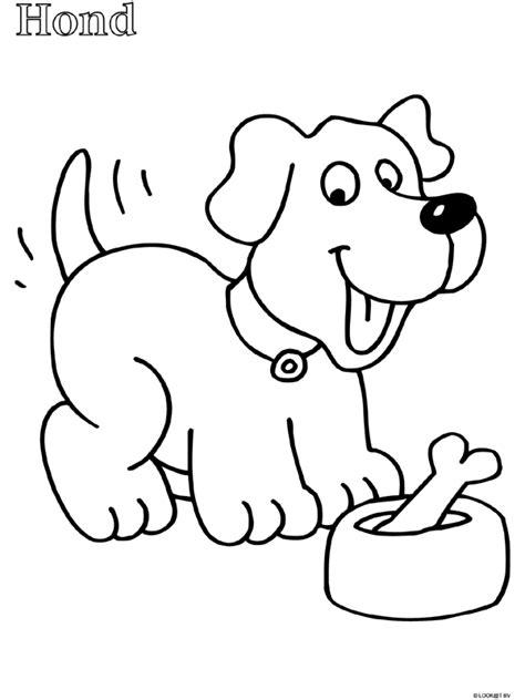 Kleurplaat Kip Peuters by Kleurplaat Peuter Kleurplaat Hond Kleurplaten Nl