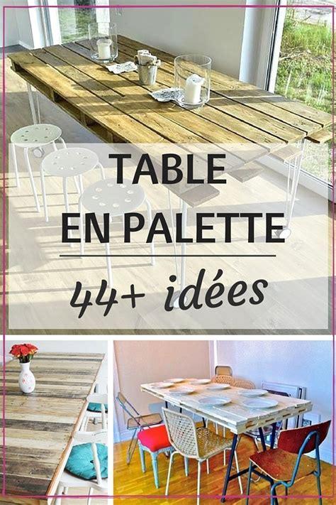 habillage meuble cuisine table en palette 44 idées à découvrir photos