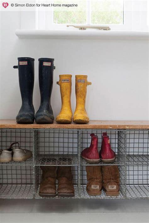 Boat Shoe Basket by Best 25 Outdoor Shoe Storage Ideas On Shoe