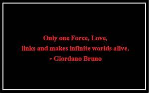 Love quotes   G... Giordano Bruno Brainy Quotes