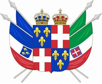 Italy France United Kingdoms Arms Coat Empire