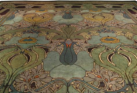 arts and crafts rugs arts craft voysey carpet arts crafts rug vintage rug