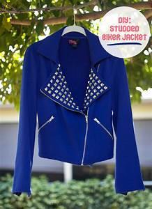 Diy, Studded, Biker, Jacket, U00b7, How, To, Make, A, Bomber, Jacket, U00b7, Embellishing, On, Cut, Out, Keep