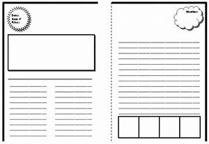 New blog one newspaper template for Free printable newspaper template for students