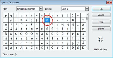 how to insert copyright symbol font for copyright symbol
