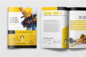 Hand Tools Products Catalog Brochure Template - 24 Pages ...