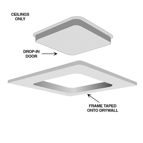 Drywall Ceiling Panels by Ceiling Access Panels For Drywall Ceiling Design Ideas