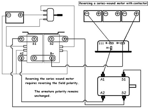 1997 Ez Go Dc Wiring Diagram by Contactor For Series Motors