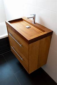 nice wood bathroom sinks Fascinating Wooden Bathroom Sinks to Create a Classic Style