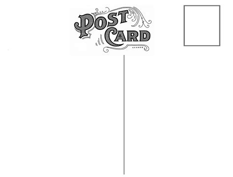 free postcard template omg my diy wedding free vintage postcard back peony rsvp templates