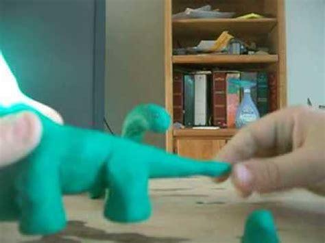 clay dinosaur tutorial youtube