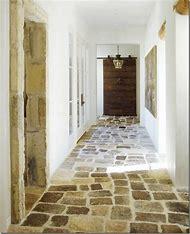 Stone Hallway Floor