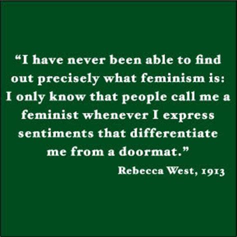 feminist doormat quote west s quotes and not much sualci quotes