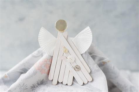popsicle stick angel ornament craft favecraftscom