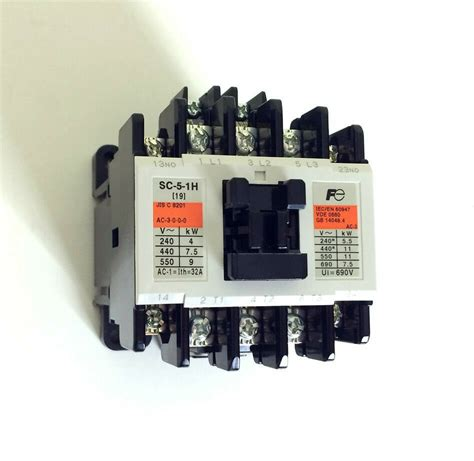 new fuji electric magnetic contactor sc 5 1h ac 200v