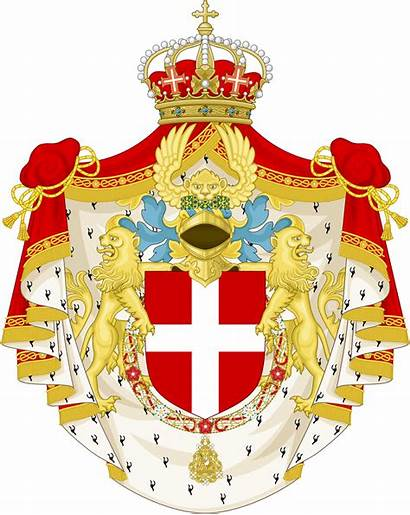 Arms Coat Italy King Svg Couronne 1890