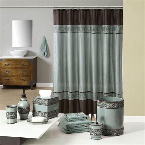 teal  brown bath accessories  industrial gala