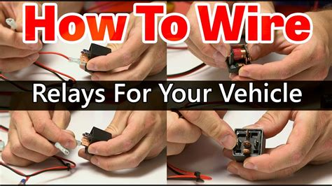 How Wire Relay Tutorial Youtube