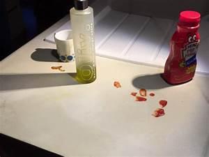 Vernis Béton Ciré : lot central en b ton cir espace cuisine betoncire ~ Premium-room.com Idées de Décoration
