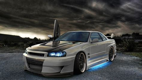 car nissan tuning artwork nissan skyline gt