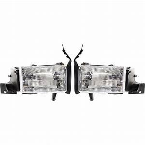 Headlight Set For 94