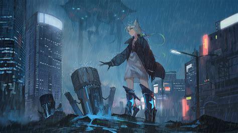 Sci Fi Anime Wallpaper - 2560x1440 anime apocalypse