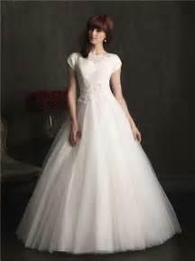 sleeve modest wedding dresses gown cap sleeve lace tulle modest wedding dress with buttons