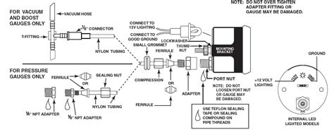 Auto Wiring Diagram Pressure by How To Install An Auto Meter Pro Comp Ultra Lite Fuel