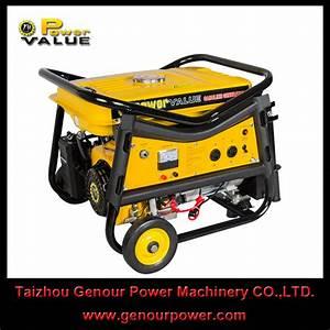China 5 5hp 6 5hp Gasoline Generator Set Air Cooled 7 5hp